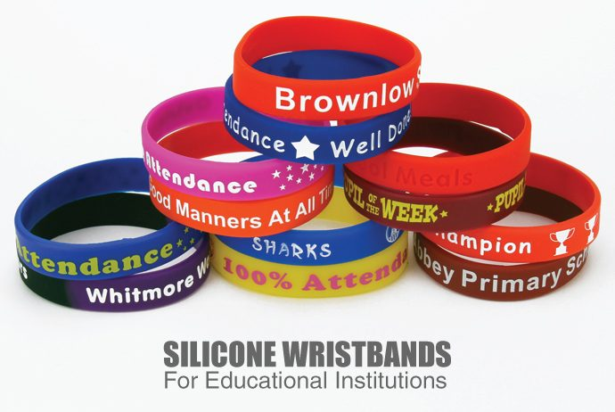 Silicone Wristbands for Educational Institutions