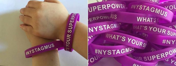 Nystagmus Wristbands