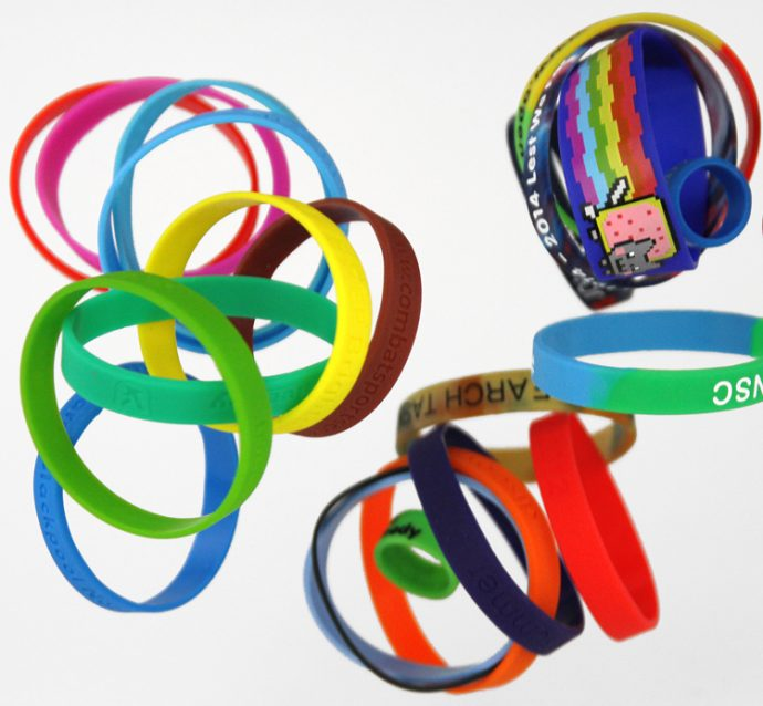 Uses of Silicone Wristbands